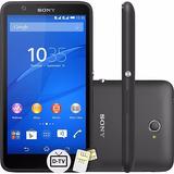 Smartphone Sony Xperia E4 Dual Tv Preto 8gb 5mp | Vitrine
