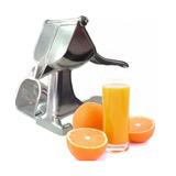 Exprimidor Jugo Manual Metalico Aluminio Naranja / Chinatek