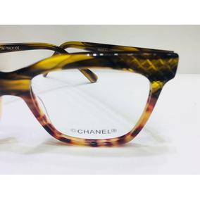 Óculos Armação Tartaruga Chanel - Óculos no Mercado Livre Brasil eff5ca86bc