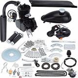 Negro 50cc 2 Tiempos Ciclo Motor Kit Motor Bicicleta