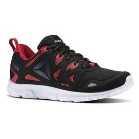 f1c2471a72bb Tenis Reebok Run Supreme 3.0 Hombre Negro rojo Nuevo Bs5554