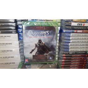 Assassins Creed Ezio Collection Mídia Física Xbox One Novo