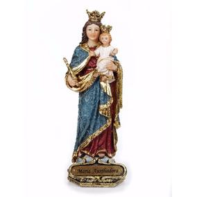 Imagem Nossa Senhora Auxiliadora 13 Cm Di Ângelo Barroco