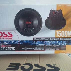 Bajo Boss Doble Bobina 12 Pulgadas 1500 Watts Mod. Cx124dvc