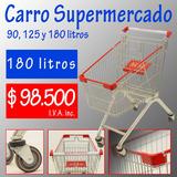 Carro Supermercado 180 Lts