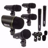 Microfone Para Bateria Kit 7 Peças Skp