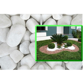 Pedra Branca Jardim Decorativa 30kg
