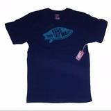 Camiseta Vans Original Surf Otw Azul Marinho