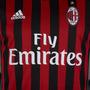 Camiseta Adidas Ac Milan Titular 2016 2017 Italia Climacool