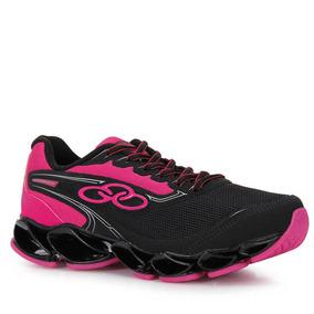 Tênis Running Feminino Olympikus Warrior - Preto
