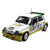 Solido 1/18 Scale Diecast S Renault Maxi 5 Turbo 1986 #20 T