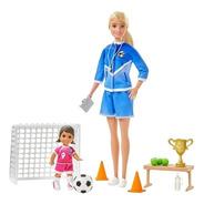 Barbie Quiero Ser Entrenadora De Fútbol Mattel Glm47
