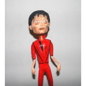 Caricatura Do Michael Jackson Em Resina Com 30 Cm