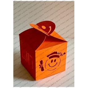Caja Para Graduacion Emoji Recuerdos Regalos Dulces
