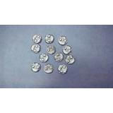 Fichas O Monedas De Sapo De Aluminio