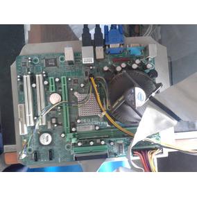 Combo Tarjeta Madre Biostar P4m900-m7-fe Procesador 1gb Ram