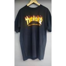 Camiseta Thrasher Skateboards Original Modelo Dgk Flip Girl