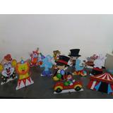 Circo Palhaco 10 Displays De Mesa Decoração Festa Infantil