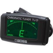 Afinador Boss Tu-01 De Clip Cromatico - Sound Store