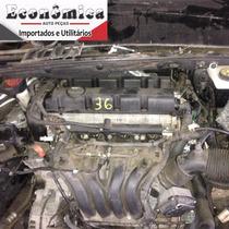 Motor Parcial Peugeot 408 2.0 16v 2012 A Base De Troca