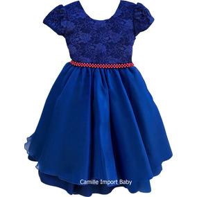 Vestido Infantil Festa Princesa Casamento Formatura E Tiara