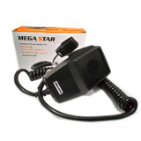 Microfone Ptt 4 Pinos Mega Star Para Radio Px