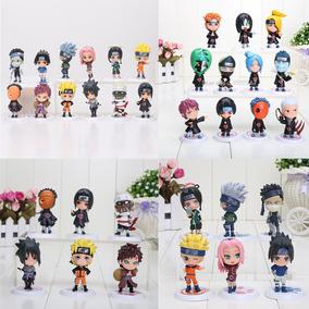 Miniatura Naruto Shippuden Kakashi Sasuke Action Figure