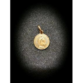 Medalla En Oro De La Virgen De Guadalupe