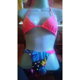 Bikini Corte Alto Marca Lony Talla 12 ( M ) Bs. 165.000,00