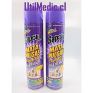 Desinfectante Mata Pulgas Higienizante Casa Pack 4 Unidades