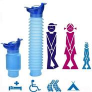 Orinal Femenino Portátil Reutilizable Con Botella