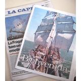 Lote Diarios Fragata Libertad - Armada Navegacion Argentina