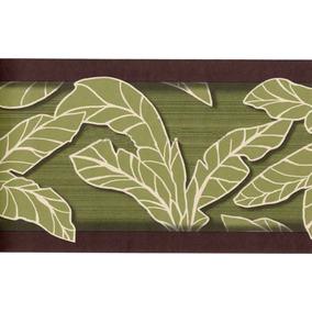 Cenefa Decorativa Con Tema Tropical Juego De 2 Rollos