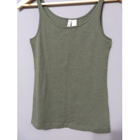 Musculosa Hym Verde Mujer