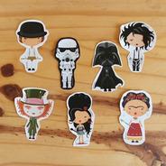 Pack De 21 Stickers - Personajes Clásicos