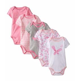 Pañaleros Para Niña Calvin Klein 0-3 Meses 5 Pzas Baby-girls