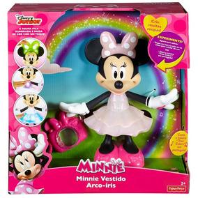 Boneca Minnie Vestido Arco-iris - Mattel