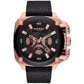 762b811d682 Relógio Comprar Barato Promoção Online Pulso Couro. Rio Grande do Sul ·  Relógio Luxo Diesel Dz7346 Bamf Preto Couro New Compre Hoje