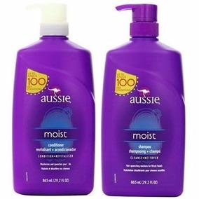 Aussie Moist Shampoo, Condicionador 865ml Original