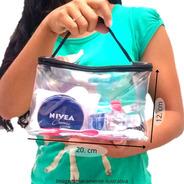 Necessaire De Viagem Transparente Shampoo Envio 24hs