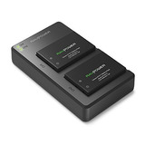 Lp-e17 Ravpower Camera Battery Charger Set For Canon Eos 77d