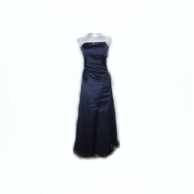 Lilasori Vestido De Fiesta Importado Color Azul Talla 38