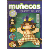 Lote 4 Revistas Muñecos Y Juguetes De Tela A