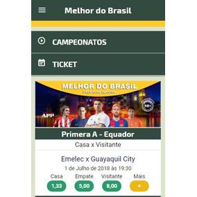 Sistema Para Banca De Futebol Automático Com App