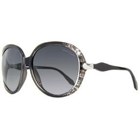 ad1e5ce5e6bf9 Branco Oculos Roberto Cavalli Talisia Rc370s - Calçados, Roupas e ...