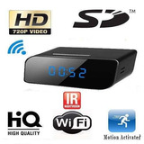Relógio Espião Wi-fi Hd C/camera Ip Acesso No Celular Ou Pc