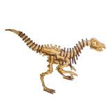 Quebra Cabeça 3d De Mdf - Dinossauro Velociraptor Ref. 1028