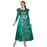 Disguise Mulher Fiona Deluxe Adultos Traje, Verde, X-grande