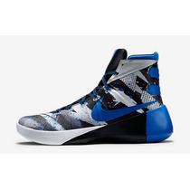 Tenis Nike Hyperdunk 2015 Caballero Morado - Bco