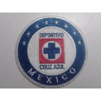 Escudo Del Cruz Azul Bordado ( 8 X 8 Cm), Futbol